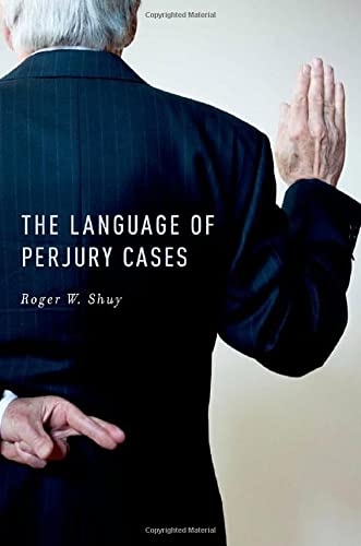 PDF The Language of Perjury Cases