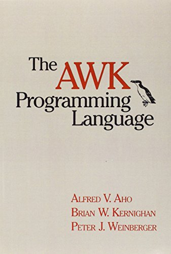 158. The AWK Programming Language