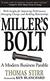 Buy Miller's Bolt: A Modern Business Parable from Amazon