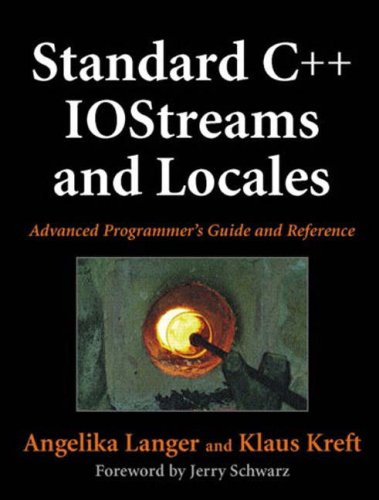 Standard C++ IOStreams and Locales: Advanced Programmer