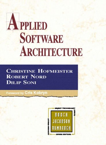 PDF Applied Software Architecture