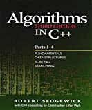 Algorithms in C++, Parts 1-4: Fundamentals, Data Structure, Sorting, Searching (3rd Edition) - book cover picture