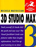 3D Studio Max R3 Visual Quickstart Guide - book cover picture