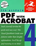 PDF with Acrobat 4: Visual Quickstart Guide - book cover picture