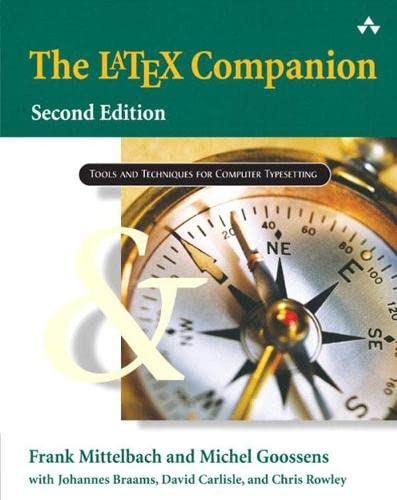 PDF The LaTeX Companion Tools and Techniques for Computer Typesetting