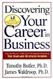 Discovering Your Career in Business - book cover picture
