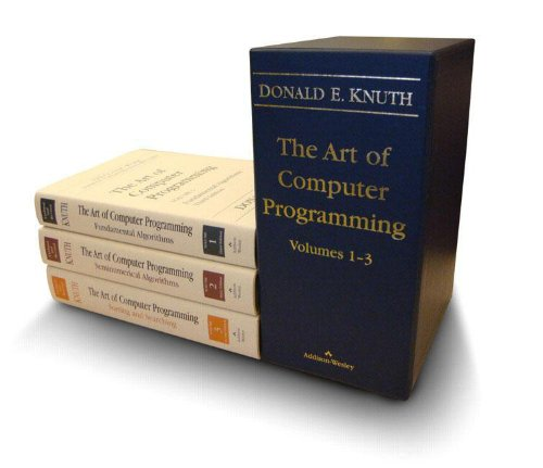 Art of Computer Programming, The, Volumes 1-3 Boxed Set (3rd Edition) (Vol 1-3)