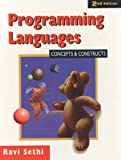 Programming Languages: Concepts and Constructs, Second Edition - book cover picture