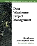 Data Warehouse Project Management - book cover picture