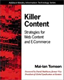 Killer Content: Strategies for Web Content and E-Commerce - book cover picture