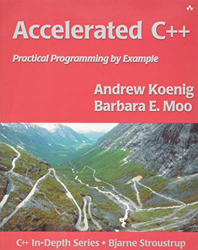 321. Accelerated C++: Practical Programming by Example