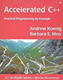 Accelerated C++: Practical Programming by Example - book cover picture