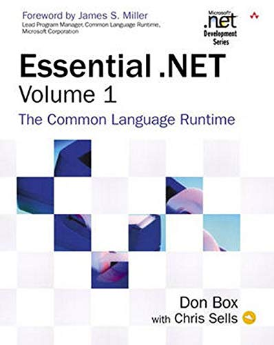 837. Essential .NET, Volume I: The Common Language Runtime