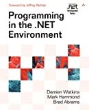 Programming in the .NET Environment Cover
