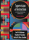 Supervision of Instruction: A Developmental Approach - book cover picture