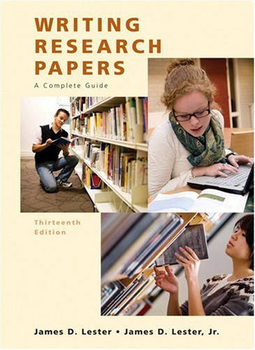 Write graduate research paper