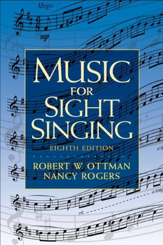 Music for Sight Singing (8th Edition), Ottman, Robert; Rogers, Nancy