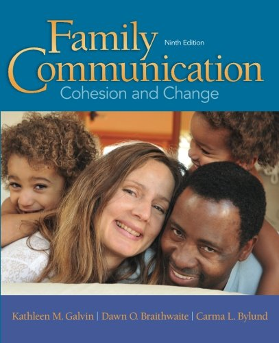 FAMILY COMMUNICATION COHESION AND CHANGE 9ED (PB 2016)**