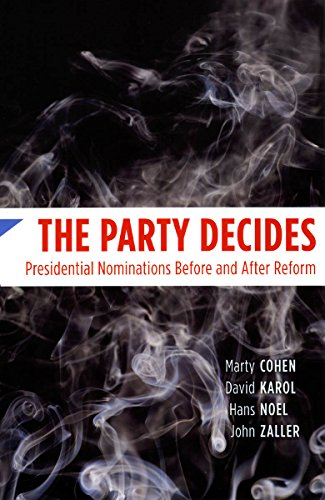 The Party Decides Book Cover Picture