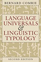 cover of Language Universals