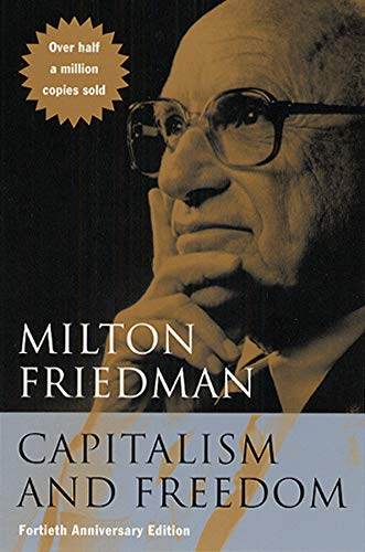 Capitalism and Freedom Book Cover Picture