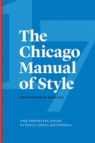Chicago Manual of Style cover art