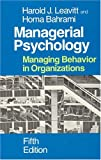 Buy Managerial Psychology: Managing Behavior in Organizations from Amazon