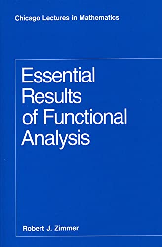PDF Essential Results of Functional Analysis Chicago Lectures in Mathematics