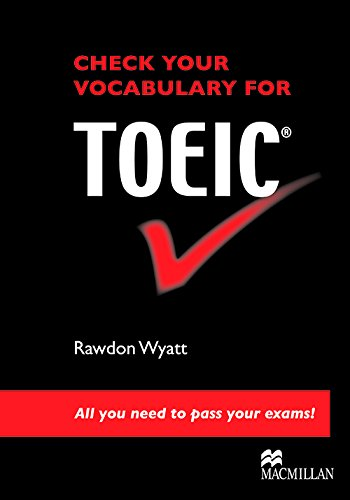 Check Your Vocab for Toeic