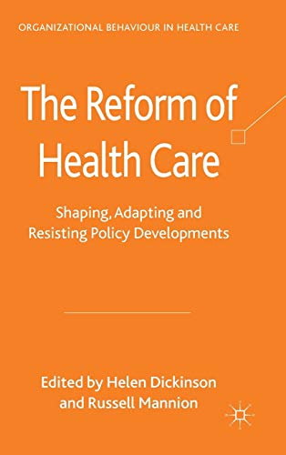 reform measures in healthcare In an effort to address the high cost of health care, the federal government, commercial health plans, and other organizations are defining and using measures of health.