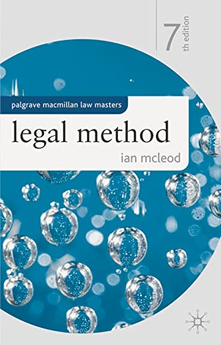 Legal Method (Law Masters)