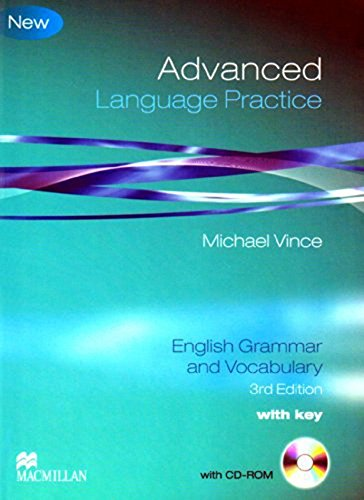 Advanced Language Practice: English Grammar and Vocabulary.