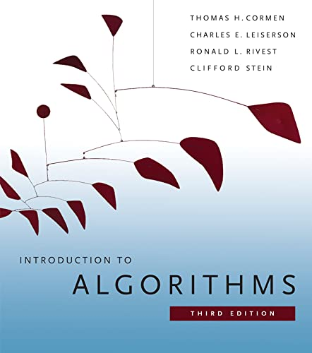 Introduction to Algorithms Book Cover Picture
