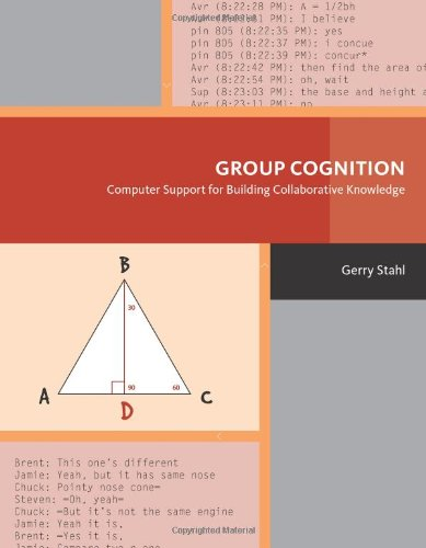 Book Cover: Group Cognition: Computer Support for Building Collaborative Knowledge (Acting w