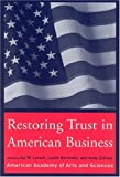Buy Restoring Trust in American Business from Amazon