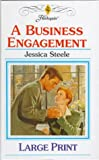 A Business Engagement (Thorndike Large Print Harlequin Series) - book cover picture