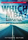Buy Which MBA? (15th Edition) from Amazon