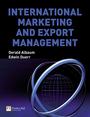 International Marketing and Export Management (6th Edition)