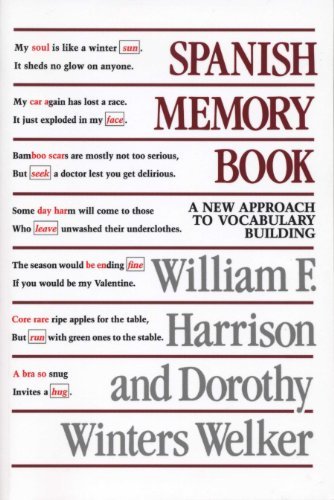Spanish Memory Book: A New Approach to Vocabulary Building
