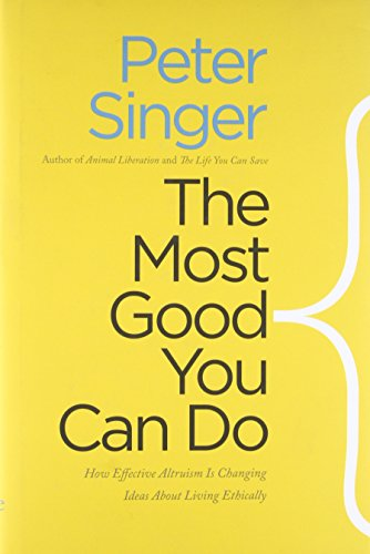 The Most Good You Can Do Book Cover Picture