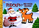 Rudolph the Red-Nosed Reindeer (Golden Squeaktime Book) - book cover picture