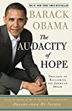 Cover Image of The Audacity of Hope: Thoughts on Reclaiming the American Dream by Barack Obama published by Three Rivers Press