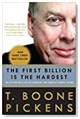 Cover of The First Billion Is the Hardest: Reflections on a Life of Comebacks and America's Energy Future