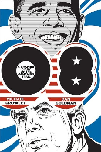 08: A Graphic Diary of the Campaign Trail cover