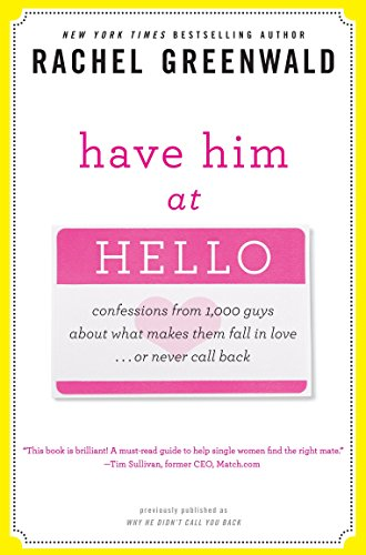 Have Him at Hello: Confessions from 1,000 Guys About What Makes Them Fall in Love . . . Or Never Call Back
