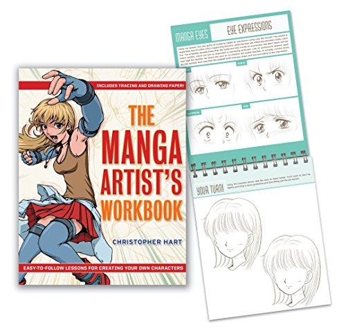 The Manga Artists Workbook cover