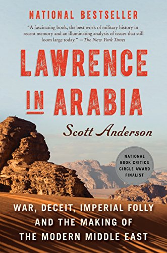 Lawrence in Arabia Book Cover Picture