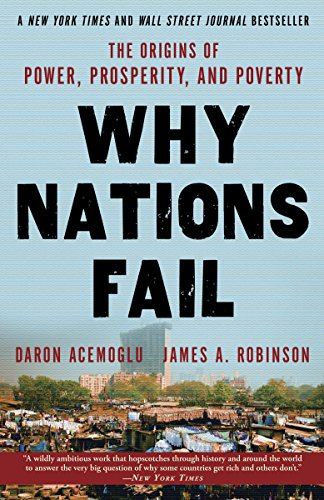 Why Nations Fail Book Cover Picture