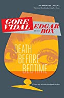 Death Before Bedtime by Edgar Box (Gore Vidal)
