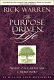 The Purpose-Driven Life: What on Earth Am I Here For? - book cover picture